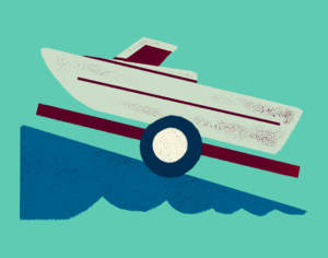 Illustration of a boat.