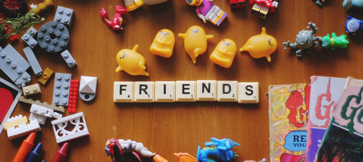 Friends with Board Games (Pieces Boardgame Cafe)