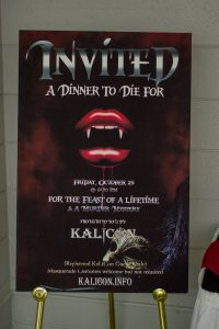 A poster for Kalicon, a writers' festival in Belleville, Ontario.