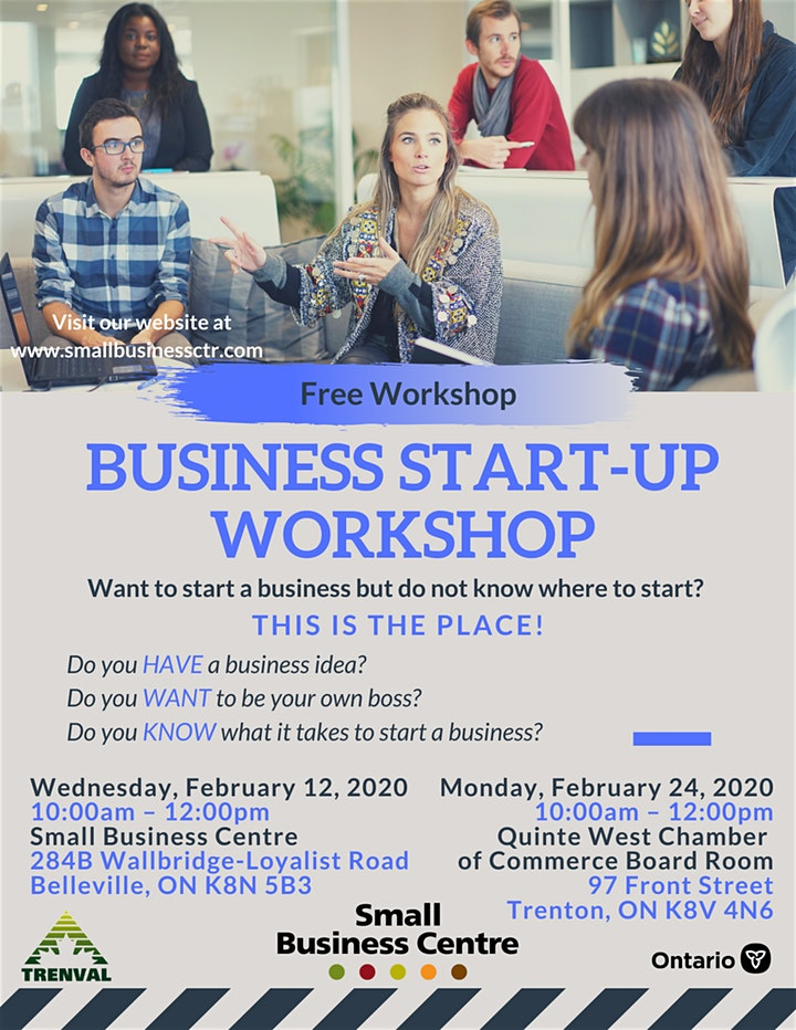 business start up workshop feb 12 24