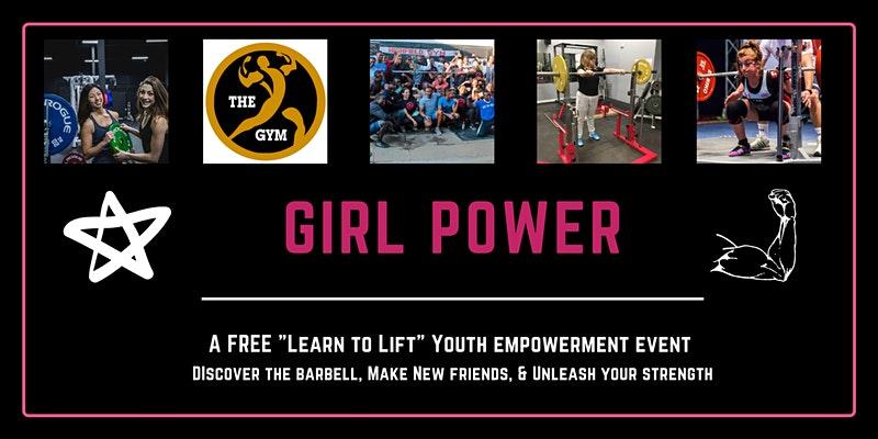 girl power powerlifting event