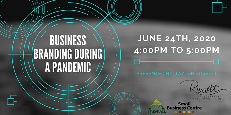 text: business branding during a pandemic