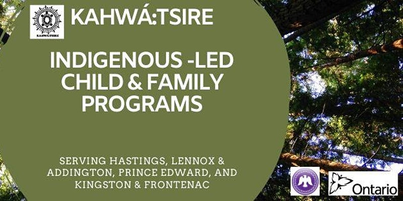 Text: kahwa-tsire Indigenous-led child & family programs