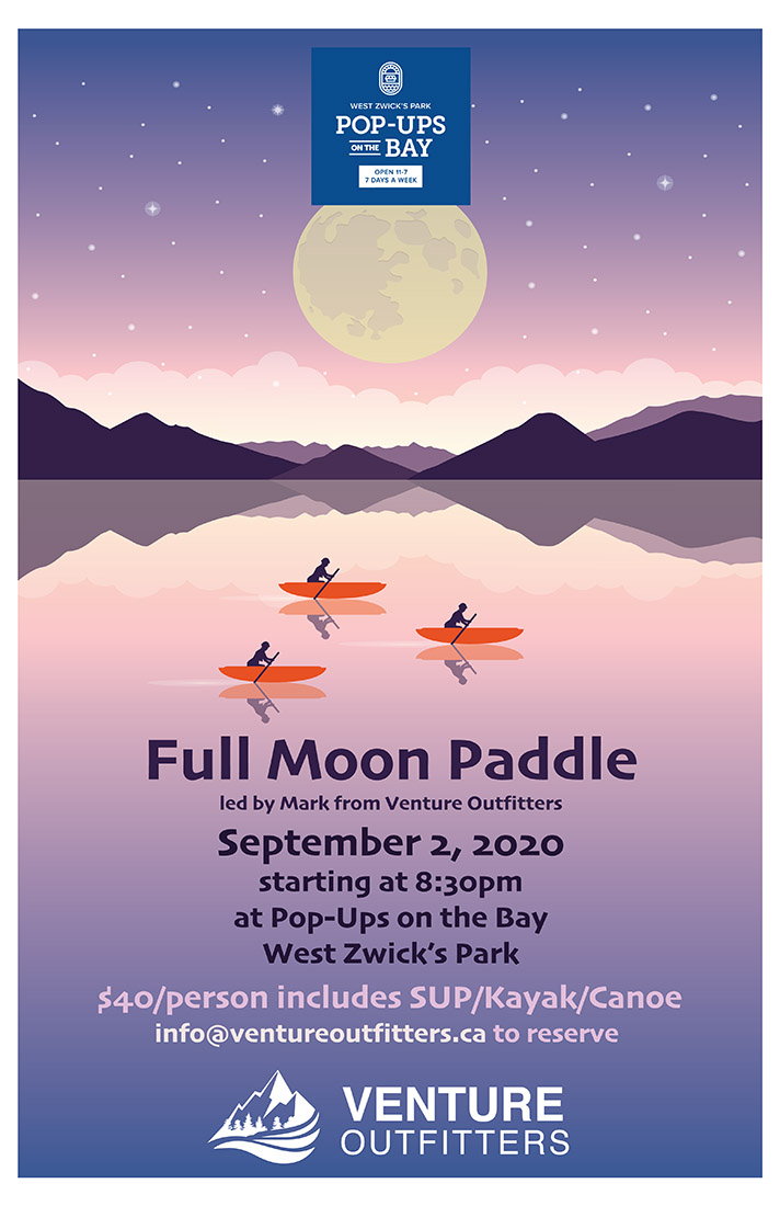 Full Moon Paddle September