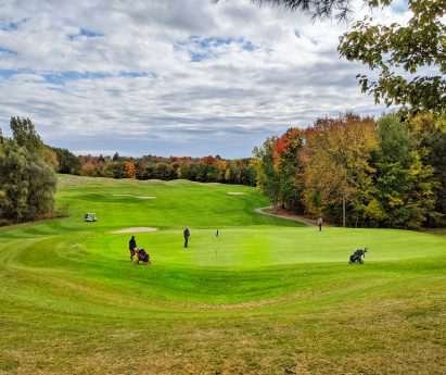 A fairway on a golf course in fall. With so much to see, eat, explore and do, it's hard to know where to begin! Check out our weekly ideas for things you Must Do in BoQ.