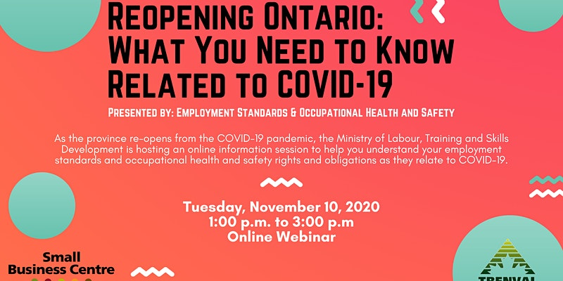 Reopening Ontario: What You Need to Know Related to COVID-19