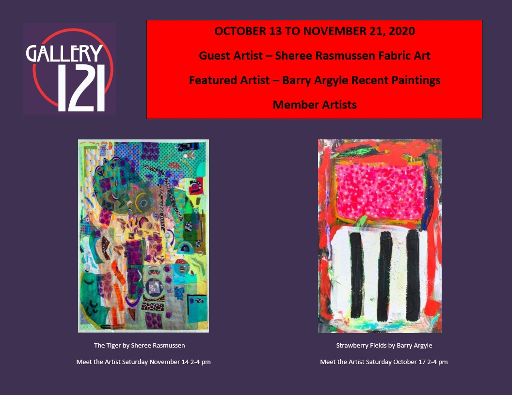 poster for gallery 121