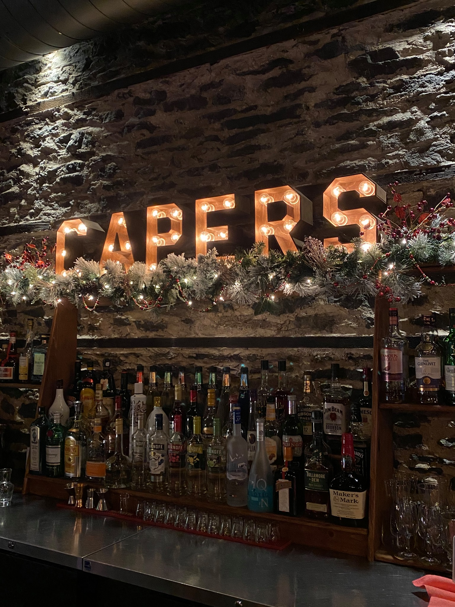 Capers sign