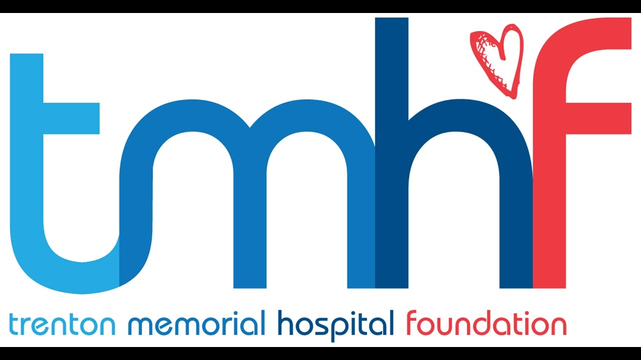 White background with Trenton Memorial Hospital Foundation logo.