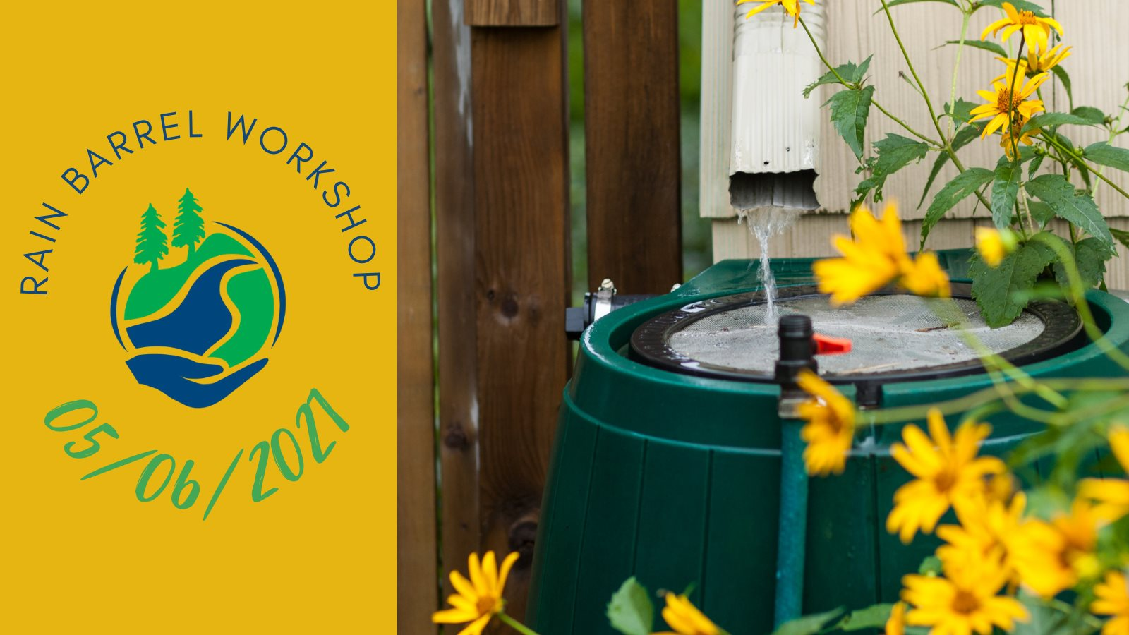 quinte conservation rain barrel workshop