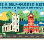 Discover local history from home with this self-guided tour of heritage spots across the Bay of Quinte region.